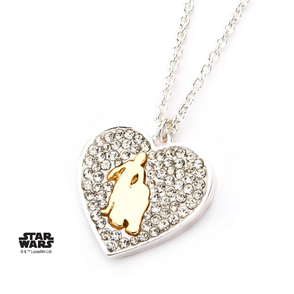 Star Wars Pendant & Necklace R2-D2 & C-3PO (silver plated)