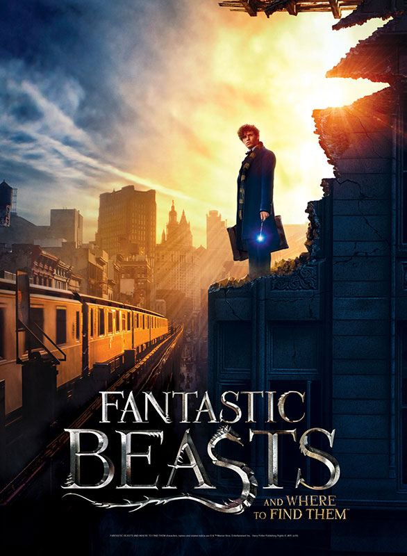 Fantastic Beasts Poster Puzzle New York City