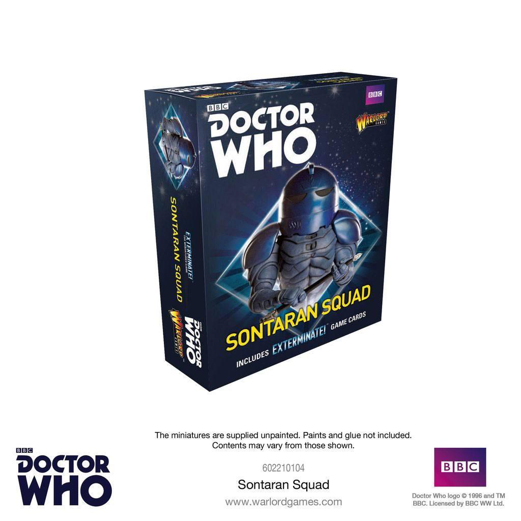 Doctor Who Exterminate! Miniatures Sontaran Squad *English Version*