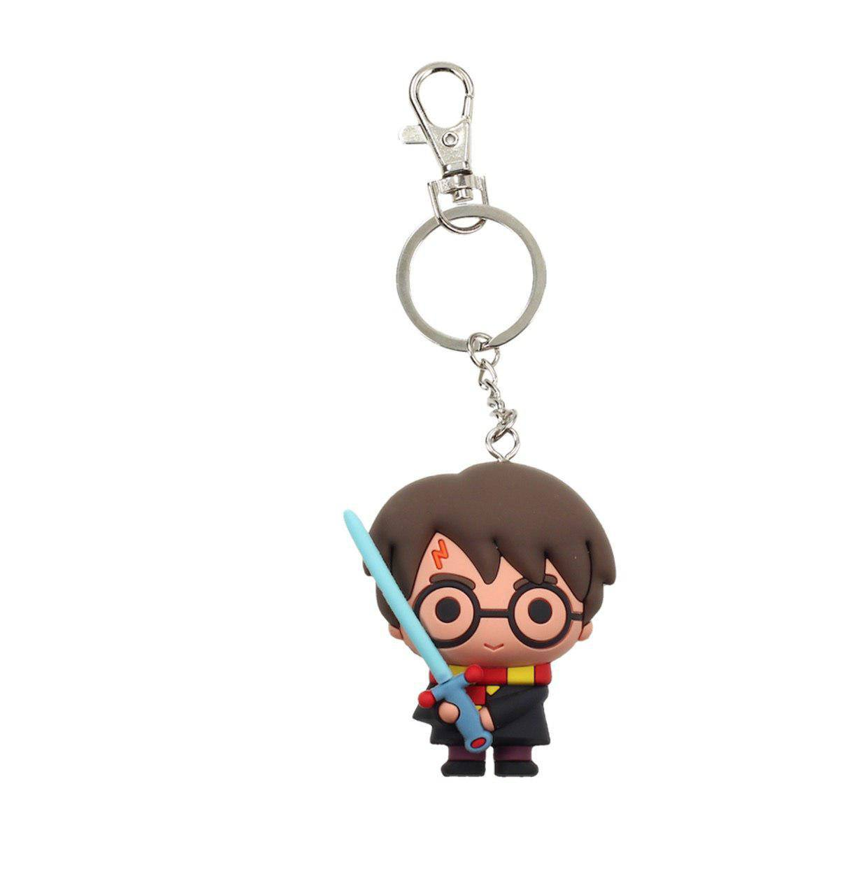 Harry Potter Rubber Keychain Harry Potter with Sword 7 cm