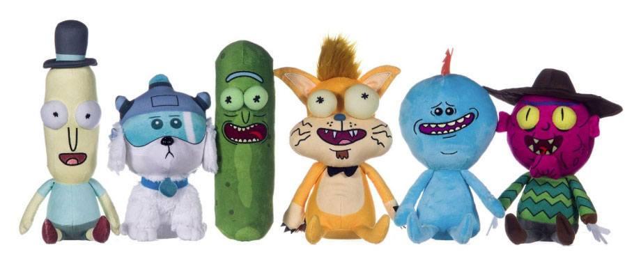 Rick and Morty Plush Figures 25 cm Assortment (6)