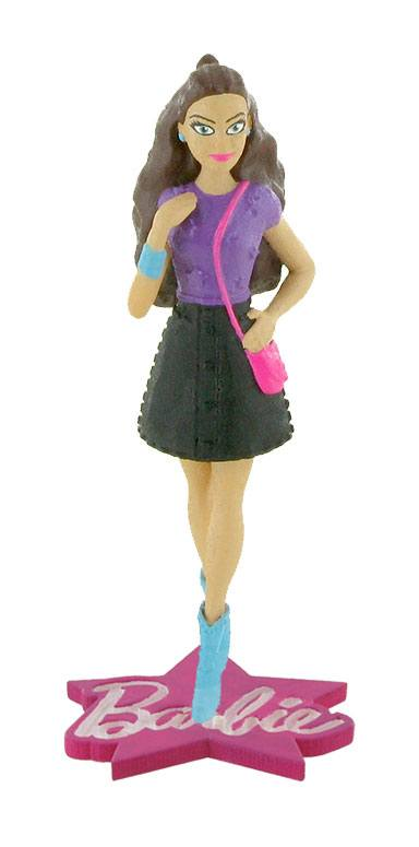 Barbie Mini Figure Barbie Fashion Pink Bag 10 cm