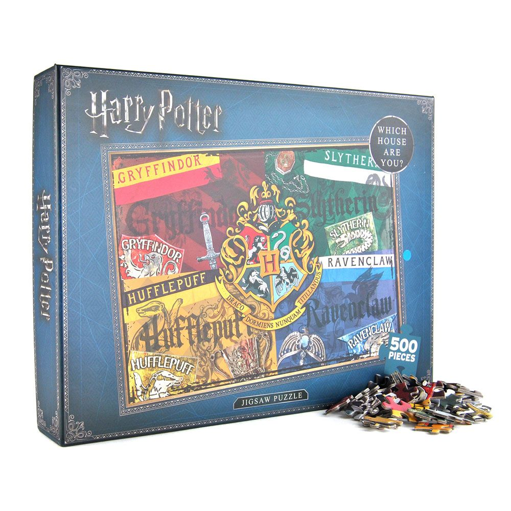 Harry Potter Jigsaw Puzzle Houses