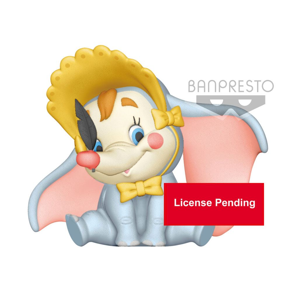Disney Fluffy Puffy Mini Figure Dumbo B Clown Version 9 cm