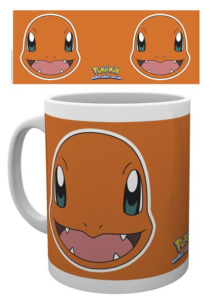 Pokemon Mug Charmander Face