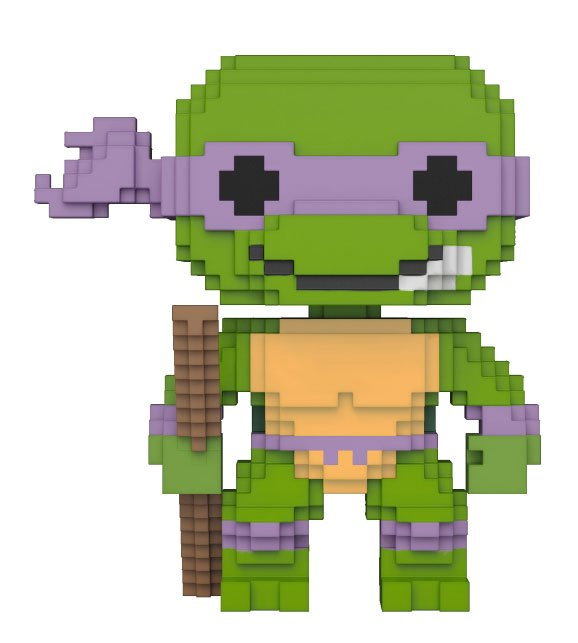 Teenage Mutant Ninja Turtles POP! 8-Bit Vinyl Figure Donatello 9 cm