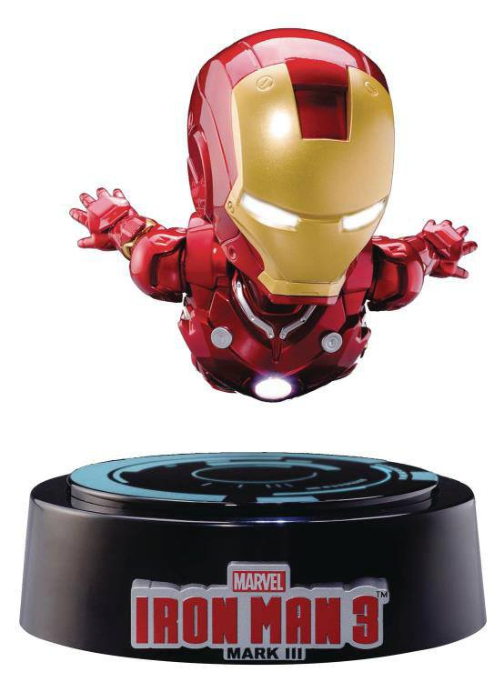 Iron Man 3 Egg Attack Floating Model with Light Up Function Iron Man Mark III 16 cm