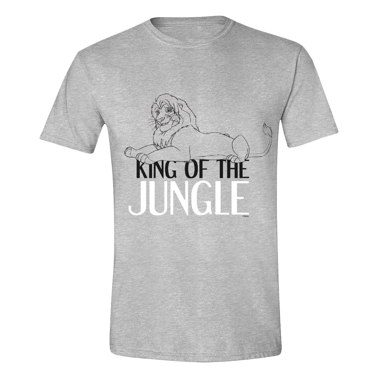The Lion King T-Shirt King of the Jungle Size XL