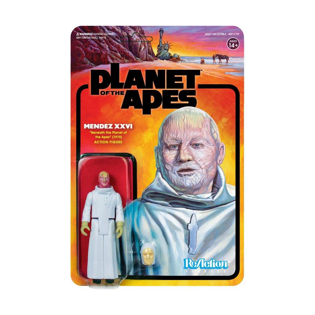 Planet of the Apes ReAction Action Figure Mendez XXVI 10 cm