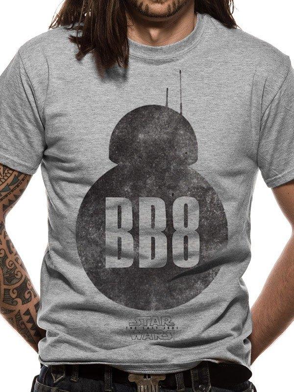 Star Wars Episode VIII T-Shirt BB-8 Silhouette Size M