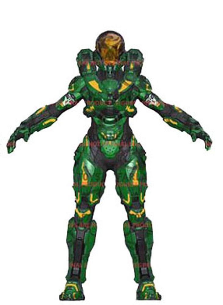 Halo 5 Guardians Series 2 Action Figure Spartan Hermes 15 cm