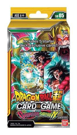 Dragonball Super Card Game Season 4 Starter Deck 5 The Crimson Saiyan *English Version*