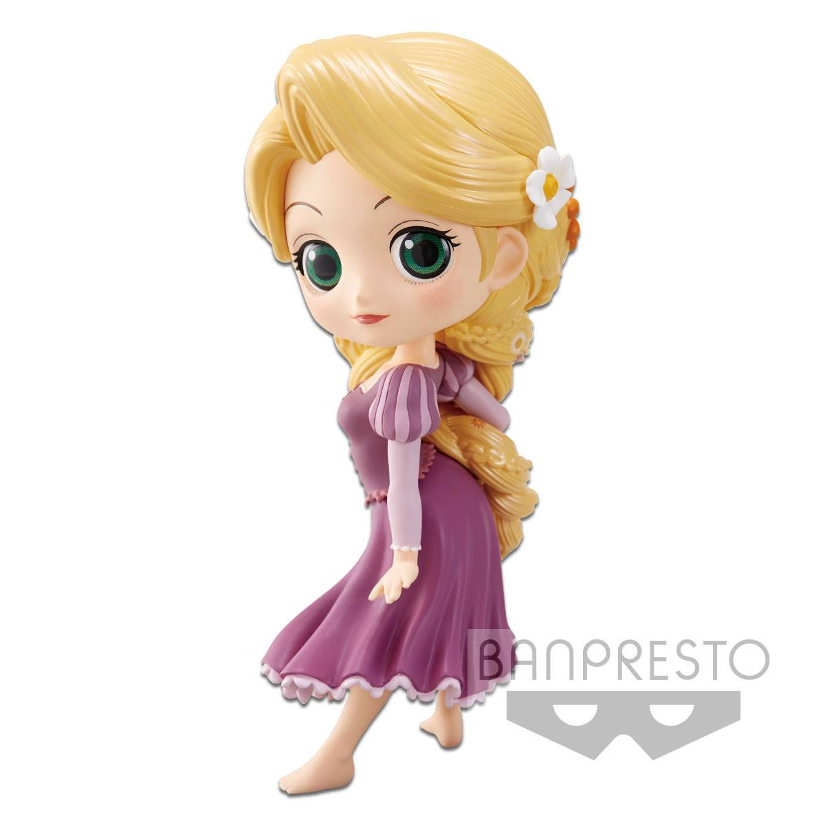 Disney Q Posket Mini Figure Rapunzel A Normal Color Version 14 cm
