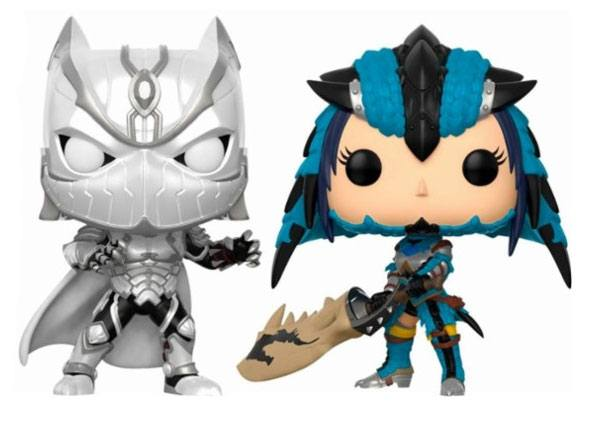 Marvel vs. Capcom Infinite POP! Games Vinyl Figure 2-Pack Black Panther vs. Monster Hunter 9 cm