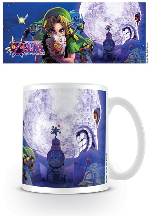 Legend of Zelda Majoras Mask Mug Moon