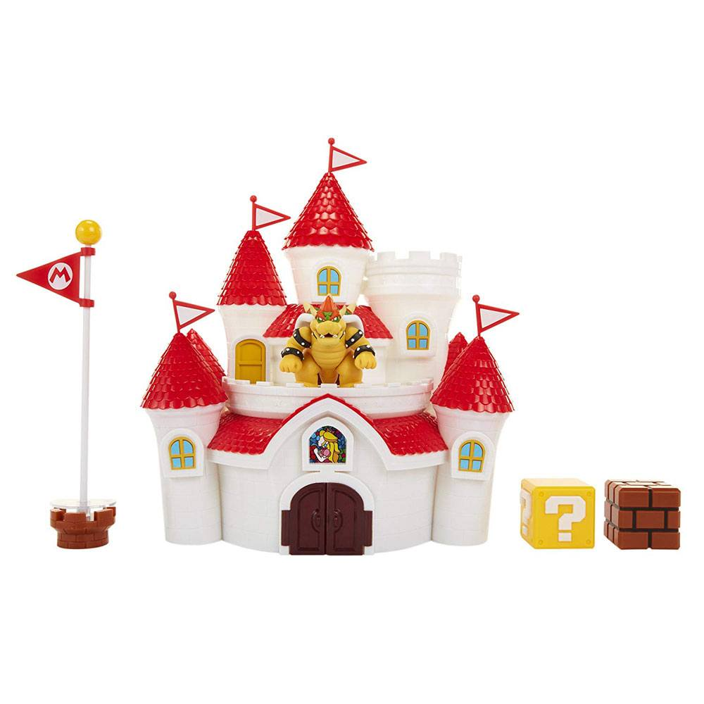 World of Nintendo Playset Super Mario Mushroom Kingdom Castle