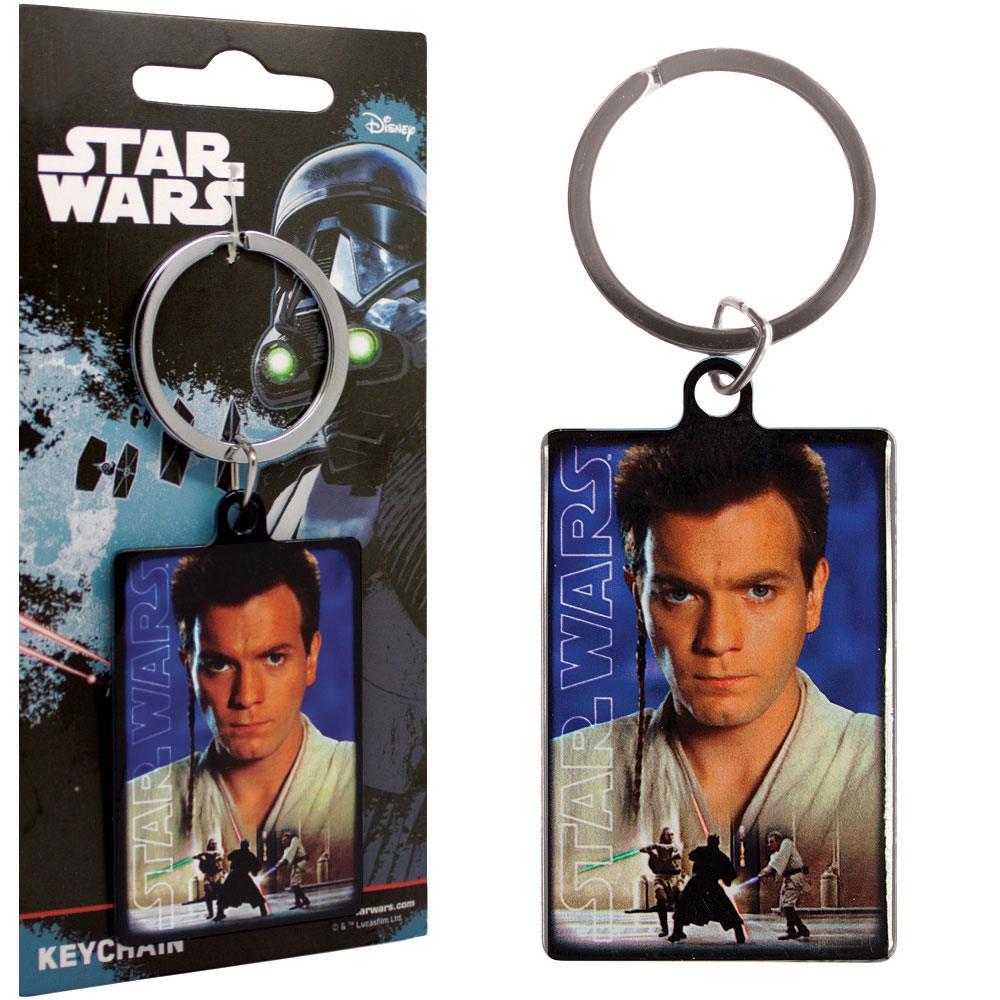 Star Wars Metal Keychain Obi Wan Kenobi 6 cm