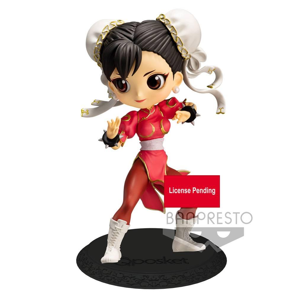 Street Fighter Q Posket Mini Figure Chun-Li Ver. A 14 cm