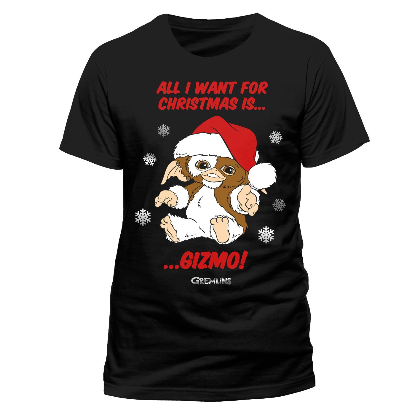 Gremlins T-Shirt All I Want Is Gizmo Size L