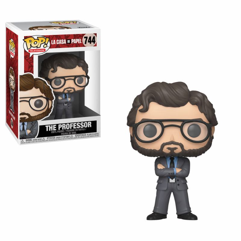 Money Heist POP! TV Vinyl Figure The Professor 9 cm