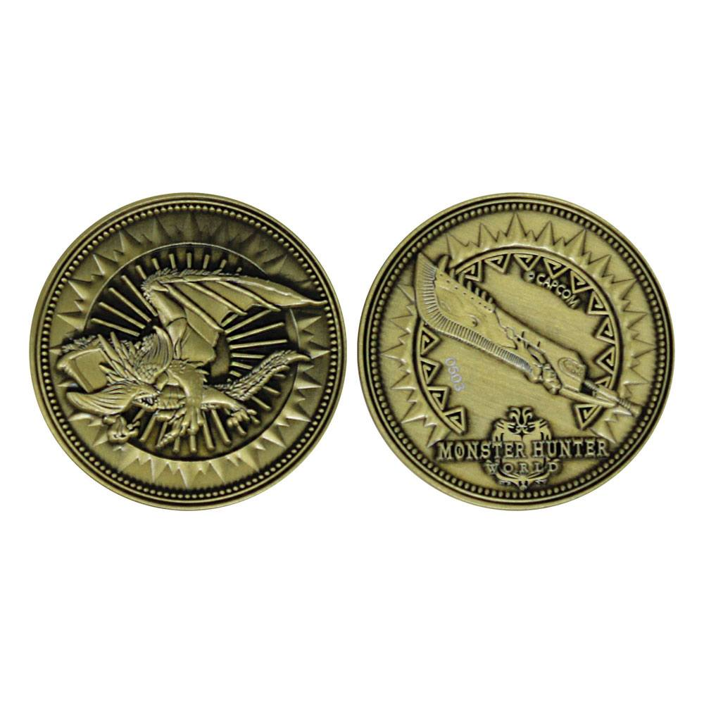 Monster Hunter Collectable Coin Great Sword Limited Edition