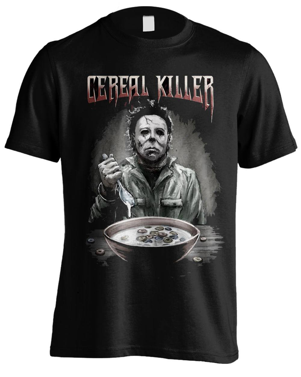 Halloween T-Shirt Cereal Killer Size M