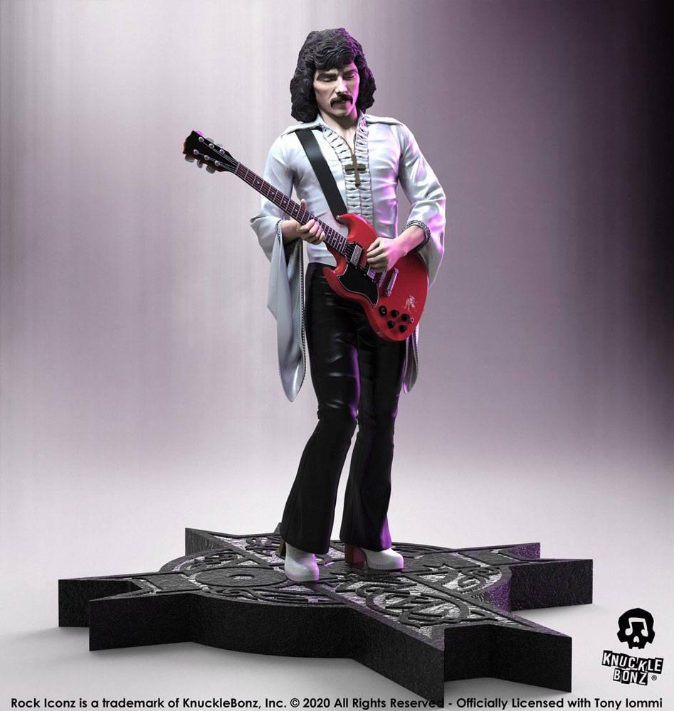 Tony Iommi Rock Iconz Statue 1/9 Limited Edition 22 cm