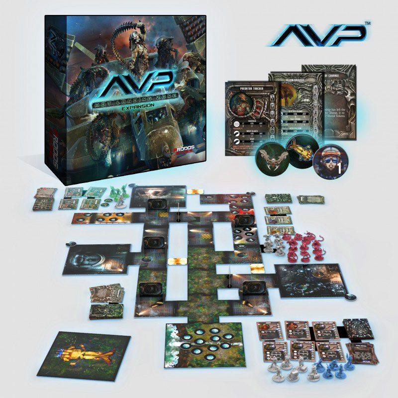 AvP Tabletop Game The Hunt Begins Expansion Hot Landing Zone *German Version*