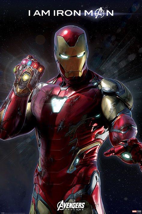 Avengers: Endgame Poster Pack I Am Iron Man 61 x 91 cm (5)