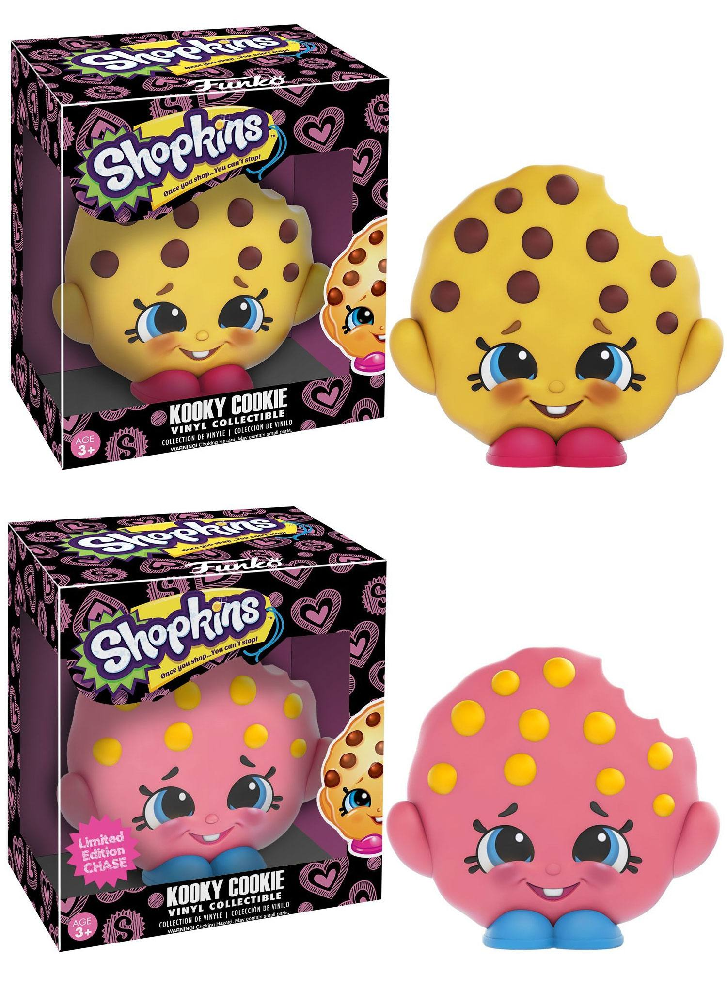 Shopkins Vinyl Collectible Figures Kooky Cookie 9 cm Assortment (6)