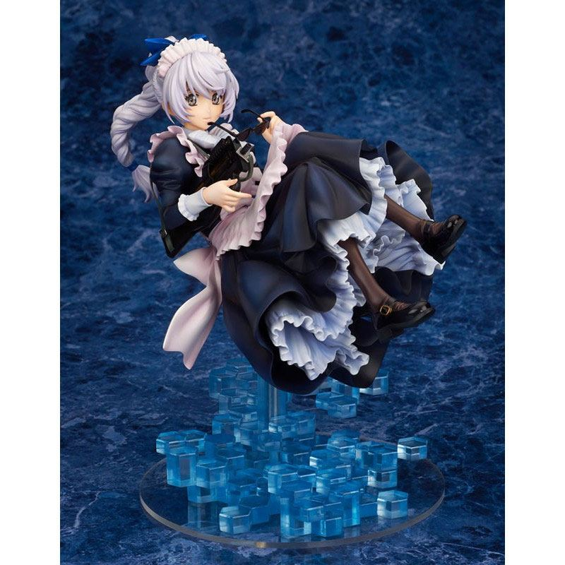 Full Metal Panic! Invisible Victory PVC Statue 1/7 Teletha Testarossa Maid Ver. 22 cm
