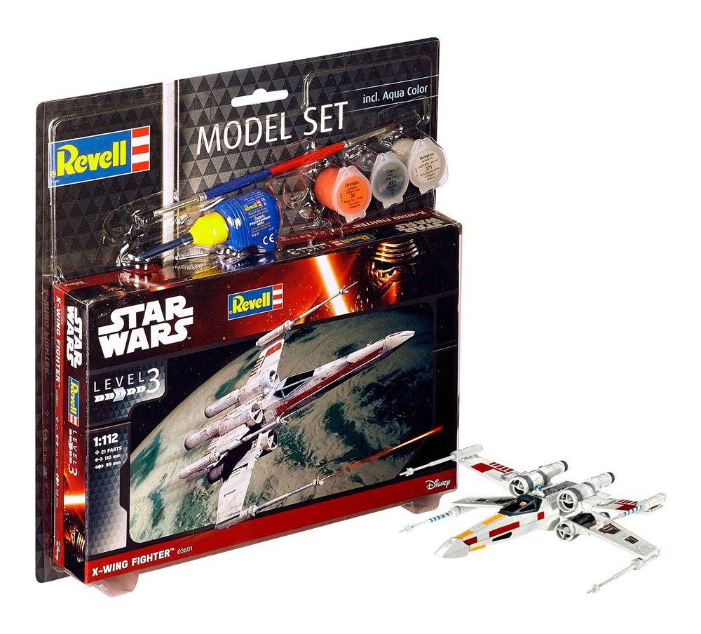 Star Wars Model Kit 1/112 Model Set X-Wing Fighter 11 cm