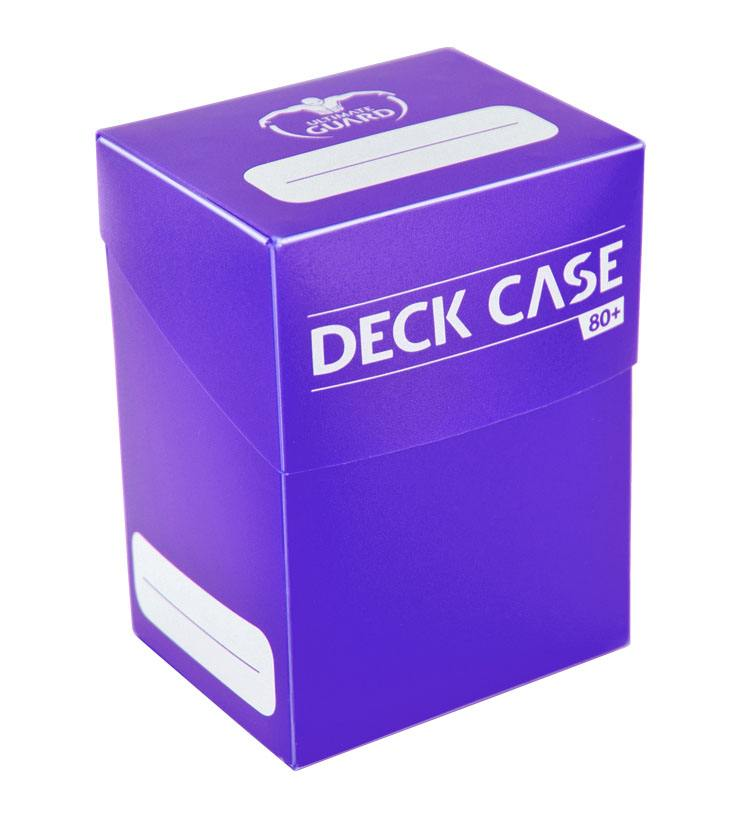 Ultimate Guard Deck Case 80+ Standard Size Purple