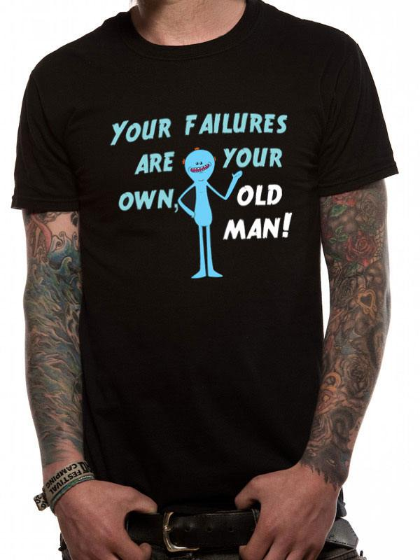 Rick & Morty T-Shirt Mr. Meeseeks Failure Size S