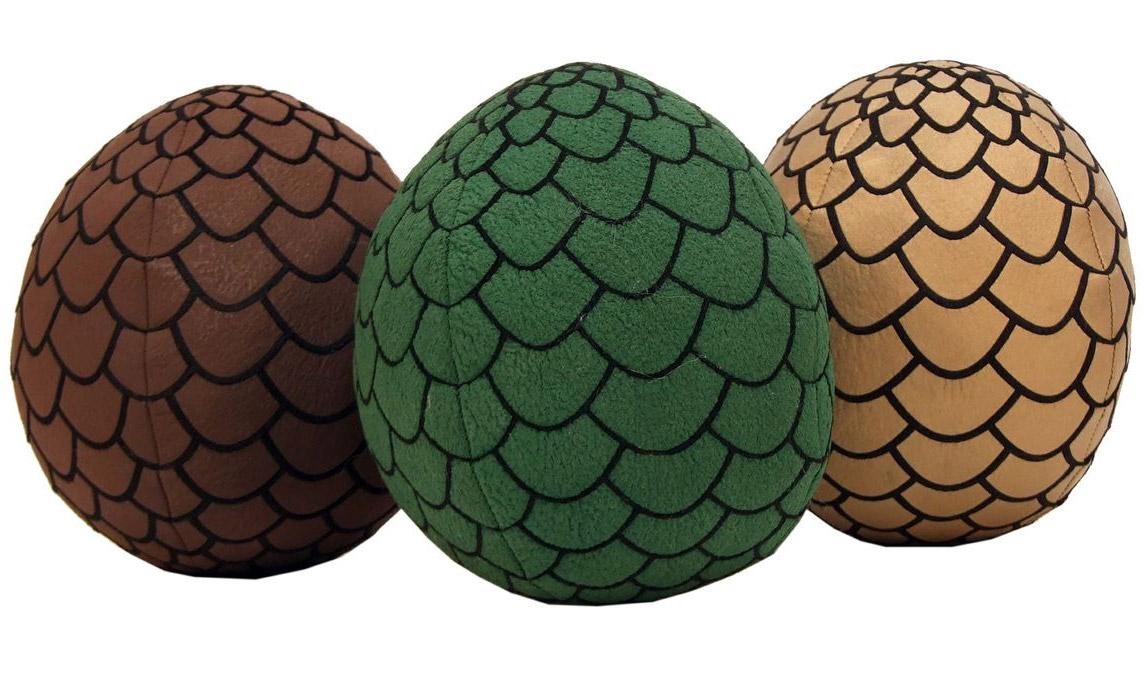 Game of Thrones Plush Dragon Eggs 18 cm Set (3)