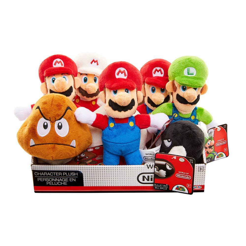 Super Mario Bros. U World of Nintendo Plush Figures 19 cm Display (8)