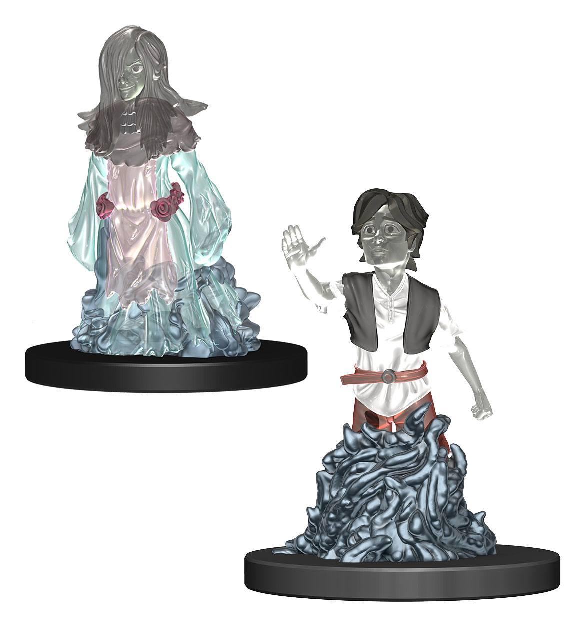 WizKids Wardlings Miniatures Ghost (Female) & Ghost (Male) Case (6)
