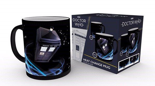 Doctor Who Heat Change Mug Tardis