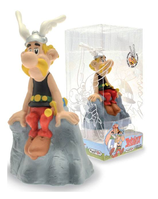 Asterix Bust Bank Asterix On The Rock 14 cm