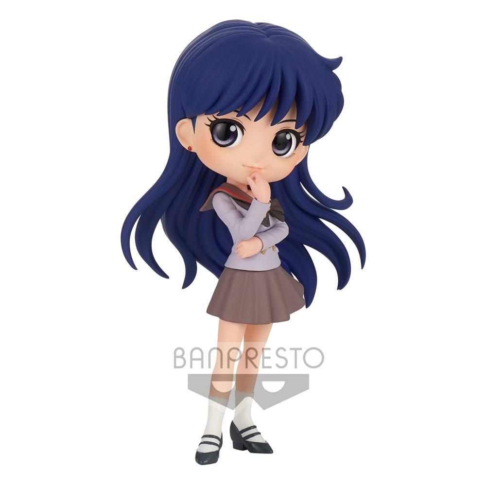 Sailor Moon Eternal The Movie Q Posket Mini Figure Rei Hino Ver. B 14 cm