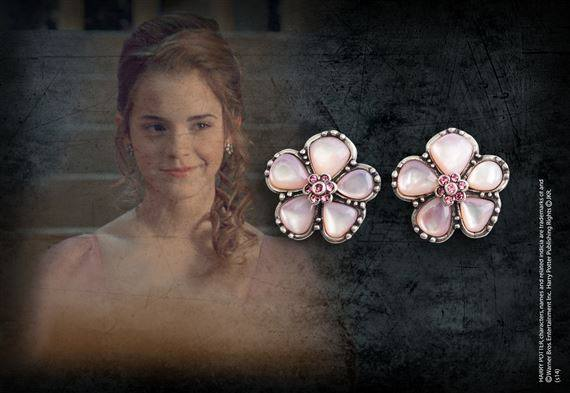 Harry Potter Replica 1/1 Hermione Granger´s Yule Ball Earrings (silver plated)