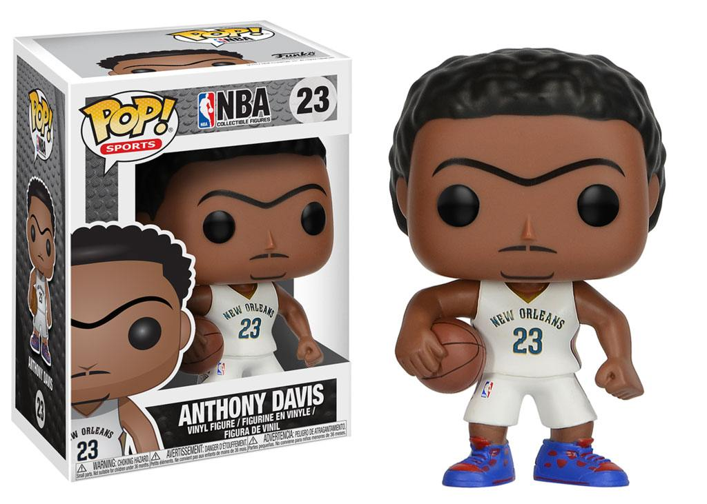 NBA POP! Sports Vinyl Figure Anthony Davis (New Orleans Pelicans) 9 cm