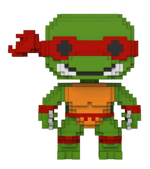 Teenage Mutant Ninja Turtles POP! 8-Bit Vinyl Figure Raphael 9 cm