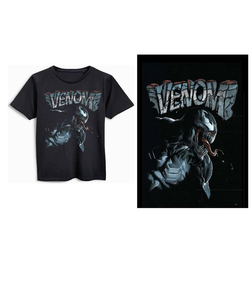 Venom T-Shirt Body Size L