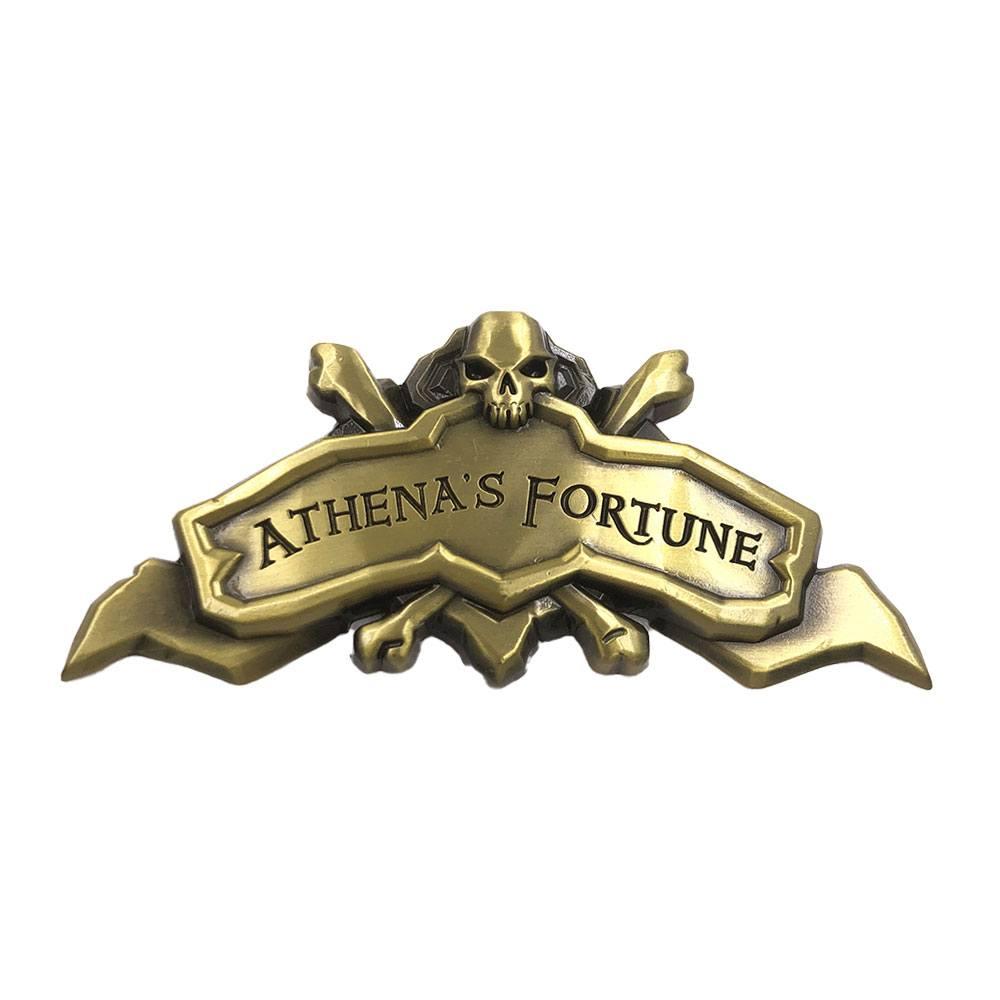 Sea of Thieves Athena's Fortune Ship Plaque Antique