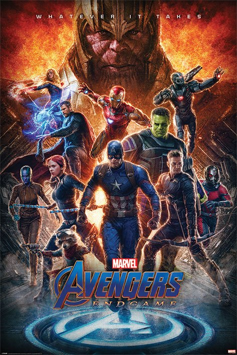 Avengers: Endgame Poster Pack Whatever It Takes 61 x 91 cm (5)