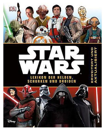Star Wars Book Lexikon der Helden, Schurken und Droiden *German Version*