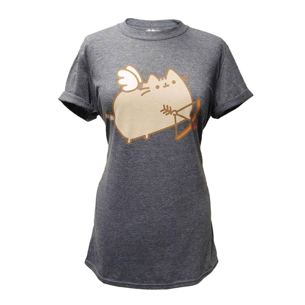 Pusheen Ladies T-Shirt Love Cat Size XL