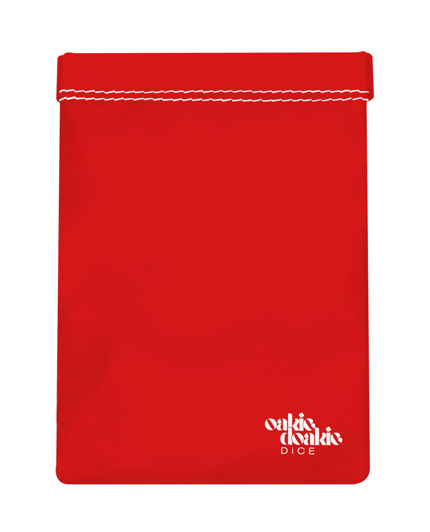 Oakie Doakie Dice Bag large - red