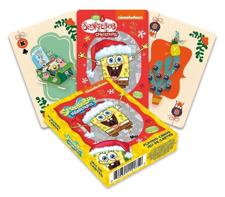SpongeBob Playing Cards Holidays